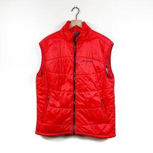 Columbia | Omni-Heat Insulated Red Puffer Vest